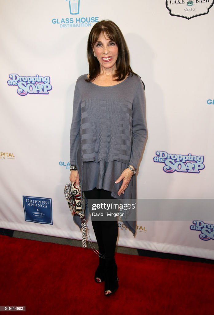 Actress Kate Linder attends the premiere of Glass House Distributions' 'Dropping The Soap' at Writers Guild Theater on March 7, 2017 in Beverly Hills, California.