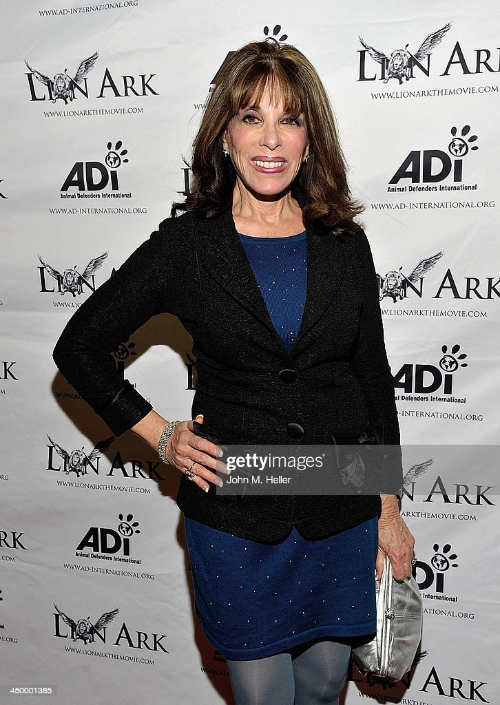 Actress Kate Linder attends the premiere of 'Lion Ark' at the Charles Aidikoff Screening Room on November 15, 2013 in Beverly Hills, California.