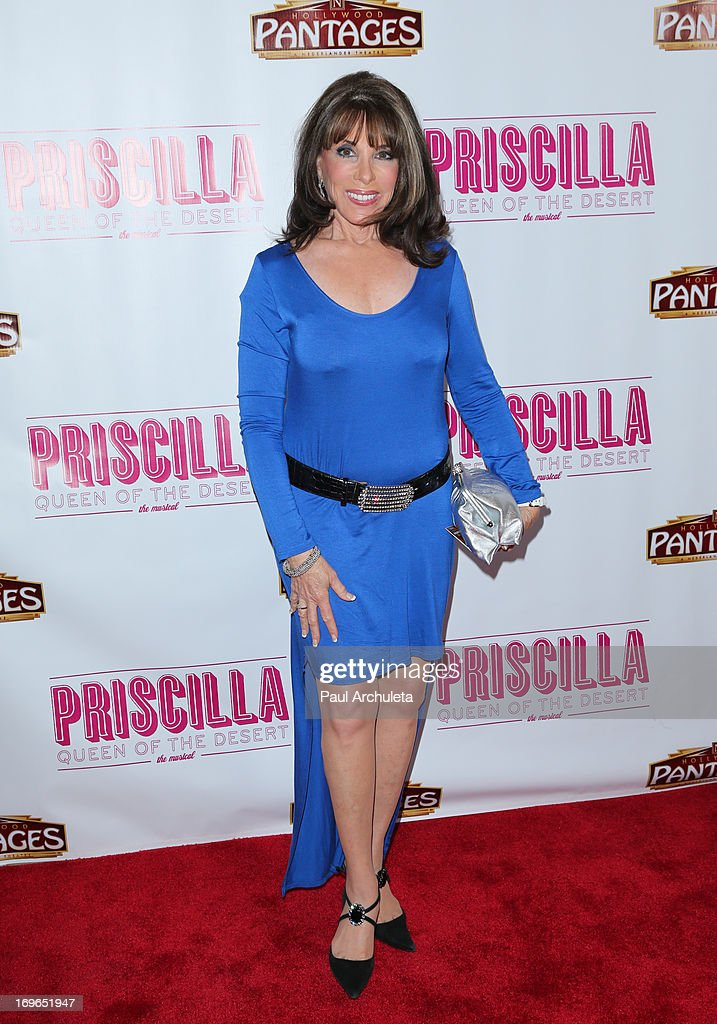 Actress Kate Linder attends the 'Priscilla Queen Of The Desert' theatre premiere at the Pantages Theatre on May 29, 2013 in Hollywood, California.