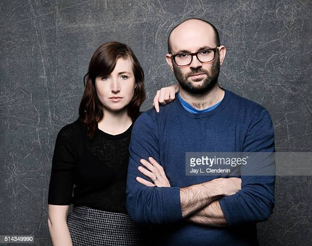 Actress Kate Lyn Sheil and writer/director Robert Greene and from the film 'Kate Plays Christine' pose for a portrait at the 2016 Sundance Film...