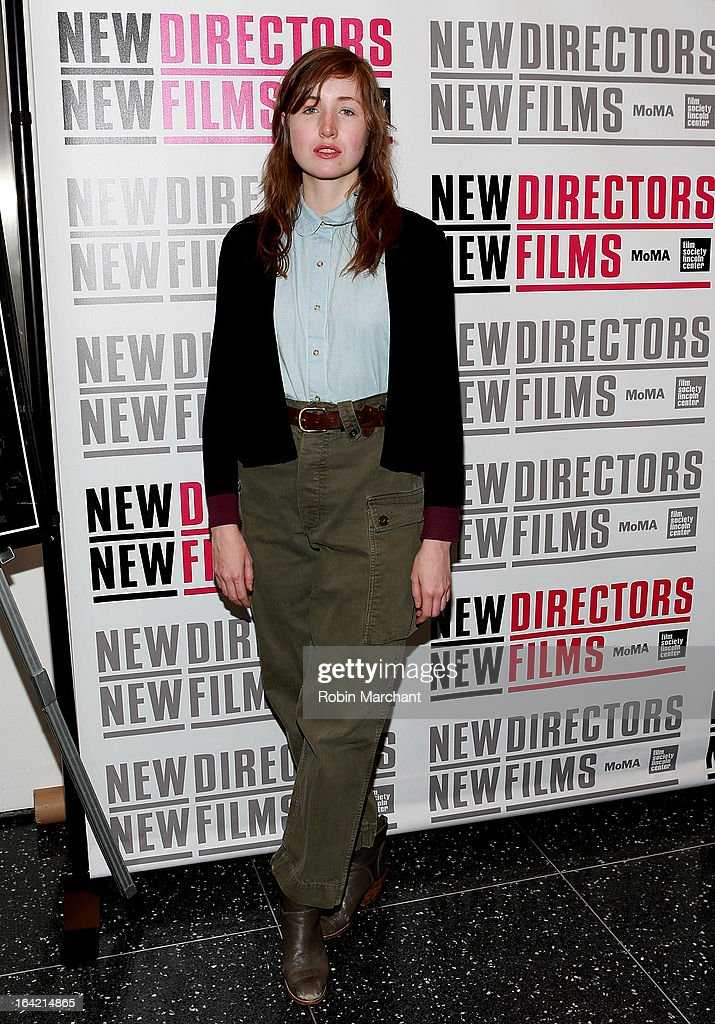 Actress Kate Lyn Sheil attends the New Directors/New Films 2013 Opening Night screening of 'Blue Caprice' at the Museum of Modern Art on March 20, 2013 in New York City.
