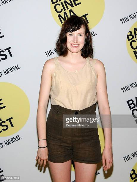 Actress Kate Lyn Sheil attends the 'Unexpected' Premiere BAMcinemaFest 2015 at BAM Peter Jay Sharp Building on June 23 2015 in the Brooklyn borough...
