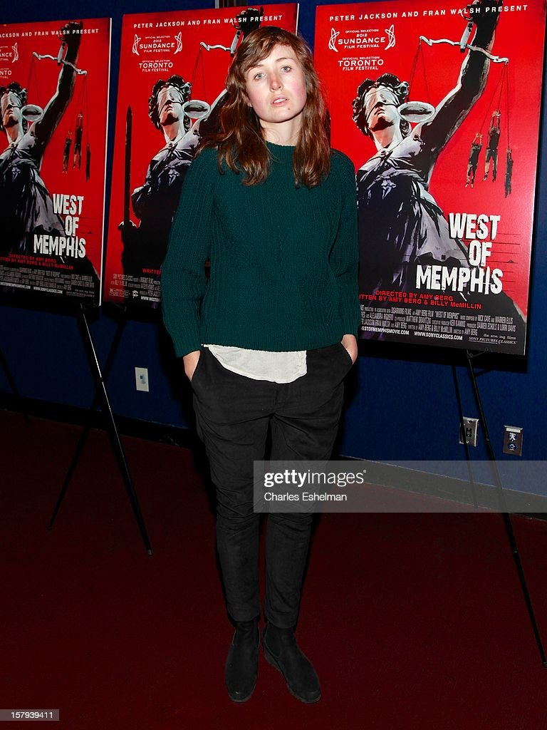 Actress Kate Lyn Sheil attends the 'West Of Memphis' premiere at Florence Gould Hall on December 7, 2012 in New York City.