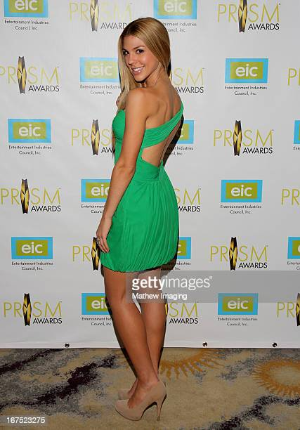 Actress Kate Mansi arrives at the 17th Annual PRISM Awards at the Beverly Hills Hotel on April 25 2013 in Beverly Hills California