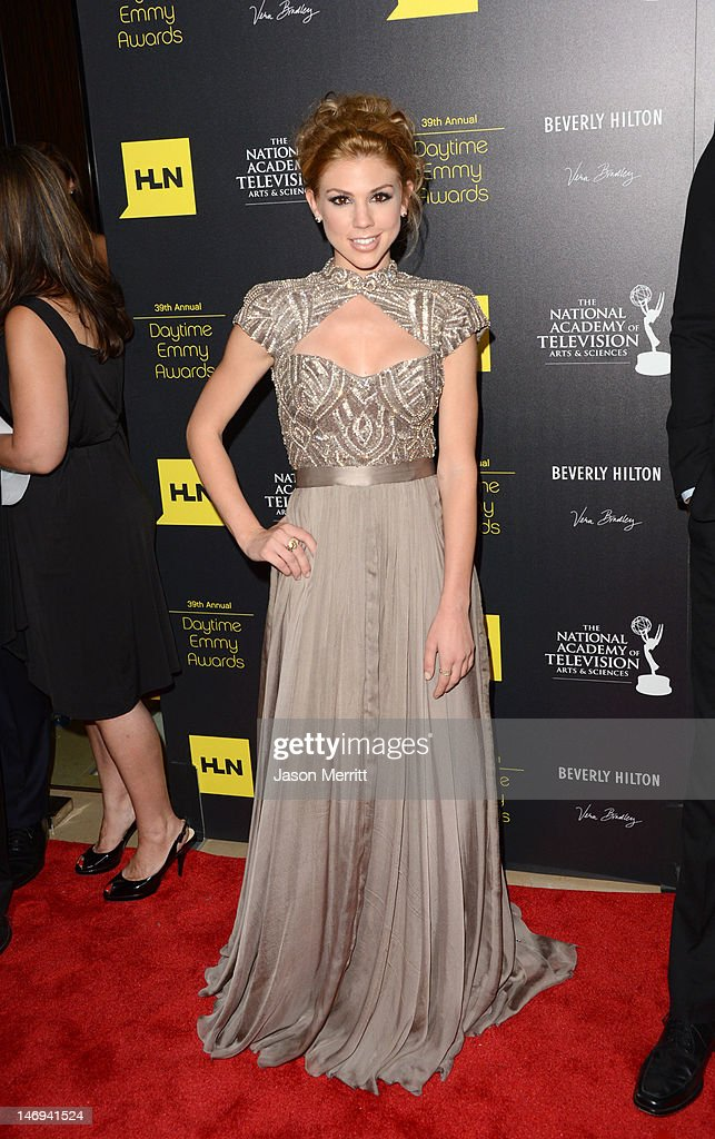 Actress Kate Mansi arrives at The 39th Annual Daytime Emmy Awards broadcasted on HLN held at The Beverly Hilton Hotel on June 23, 2012 in Beverly Hills, California. (Photo by Jason Merritt/WireImage) 22542_002_JM_2028.JPG
