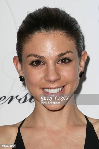 Actress Kate Mansi arrives at the 40th Anniversary of the Soap Opera Digest at The Argyle on February 24 2016 in Hollywood California