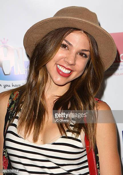 Actress Kate Mansi attends Celebrity Bowling Tournament Benefiting Childhelp at PINZ Bowling Entertainment Center on October 19 2014 in Studio City...