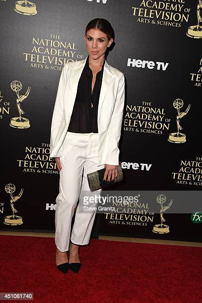Actress Kate Mansi attends The 41st Annual Daytime Emmy Awards at The Beverly Hilton Hotel on June 22 2014 in Beverly Hills California