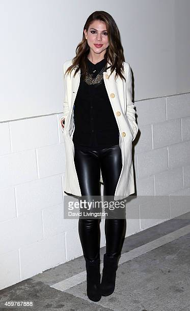 Actress Kate Mansi attends the 83rd Annual Hollywood Christmas Parade on November 30 2014 in Hollywood California