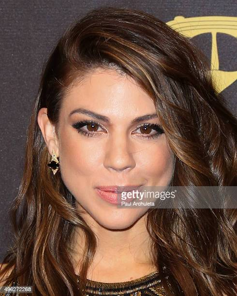 Actress Kate Mansi attends the 'Days Of Our Lives' 50th Anniversary at Hollywood Palladium on November 7 2015 in Los Angeles California