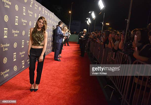 Actress Kate Mansi attends the Days Of Our Lives' 50th Anniversary Celebration at Hollywood Palladium on November 7 2015 in Los Angeles California