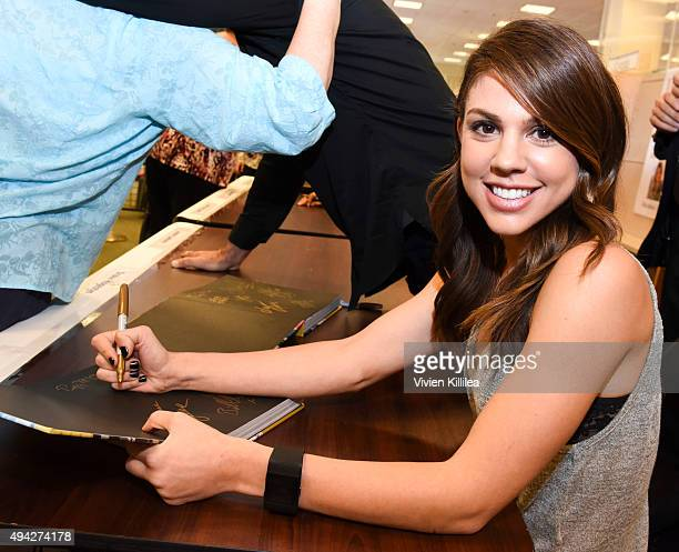 Actress Kate Mansi attends the Days Of Our Lives Book Signing Barnes And Noble The Grove at The Grove on October 25 2015 in Los Angeles California
