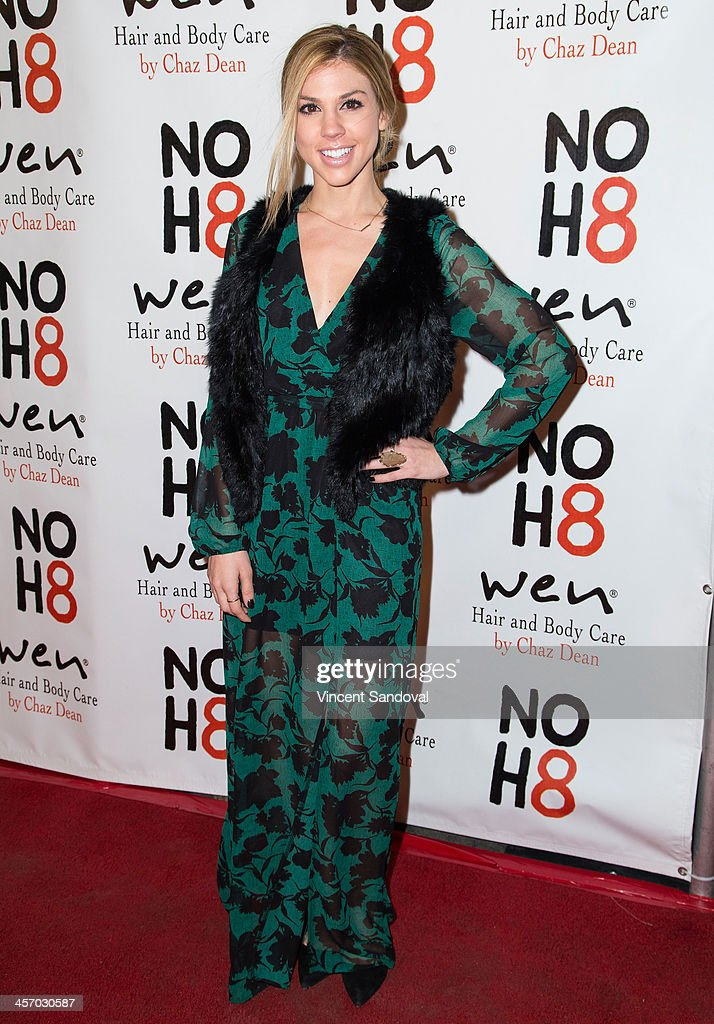 Actress Kate Mansi attends the NOH8 Campaign's 5th Annual Anniversary Celebration at Avalon on December 15, 2013 in Hollywood, California.