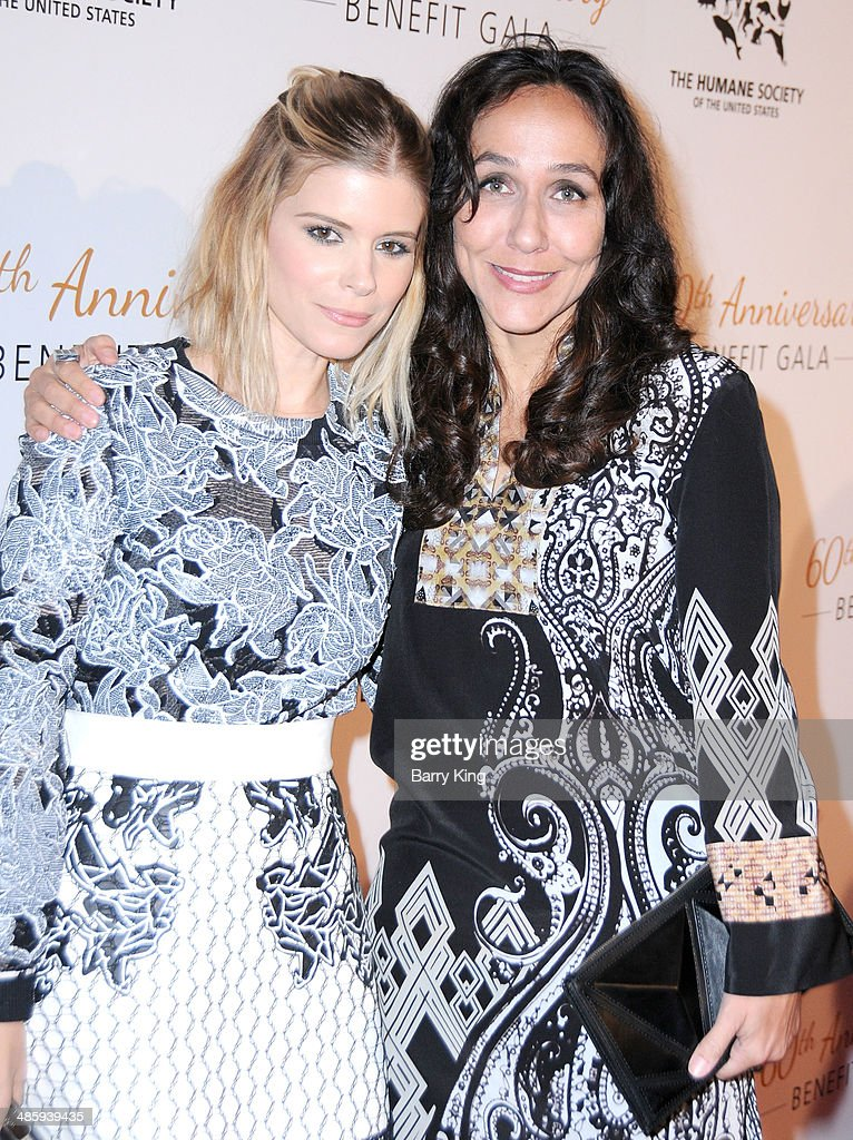 Actress <a gi-track='captionPersonalityLinkClicked' href=/galleries/search?phrase=Kate+Mara&family=editorial&specificpeople=544680 ng-click='$event.stopPropagation()'>Kate Mara</a> (L) and director <a gi-track='captionPersonalityLinkClicked' href=/galleries/search?phrase=Gabriela+Cowperthwaite&family=editorial&specificpeople=10127120 ng-click='$event.stopPropagation()'>Gabriela Cowperthwaite</a> attend the Humane Society Of The United States 60th Anniversary Benefit Gala on March 29, 2014 at The Beverly Hilton Hotel in Beverly Hills, California.
