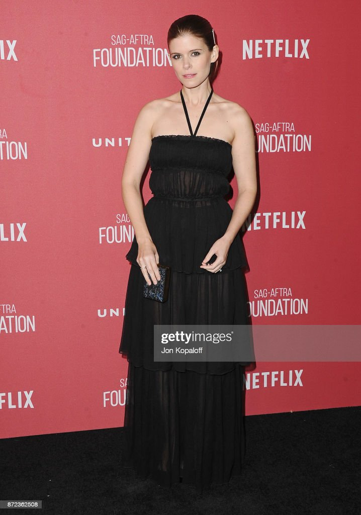 Actress Kate Mara arrives at SAG-AFTRA Foundation Patron of the Artists Awards 2017 on November 9, 2017 in Beverly Hills, California.
