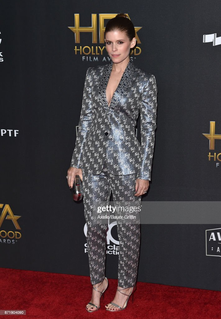Actress Kate Mara arrives at the 21st Annual Hollywood Film Awards at The Beverly Hilton Hotel on November 5, 2017 in Beverly Hills, California.