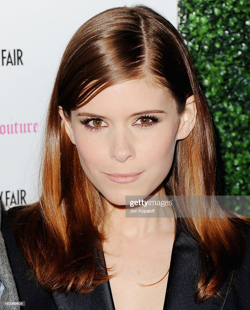 Actress Kate Mara arrives at the Vanity Fair And Juicy Couture Celebration Of The 2013 Vanities Calendar at Chateau Marmont on February 18, 2013 in Los Angeles, California.