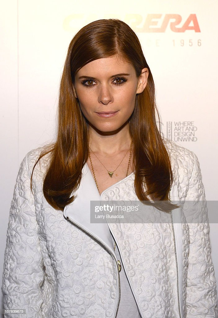 Actress Kate Mara arrives to AD Oasis Hosts Carrera Cocktail Party at The Raleigh on December 6, 2012 in Miami, Florida.