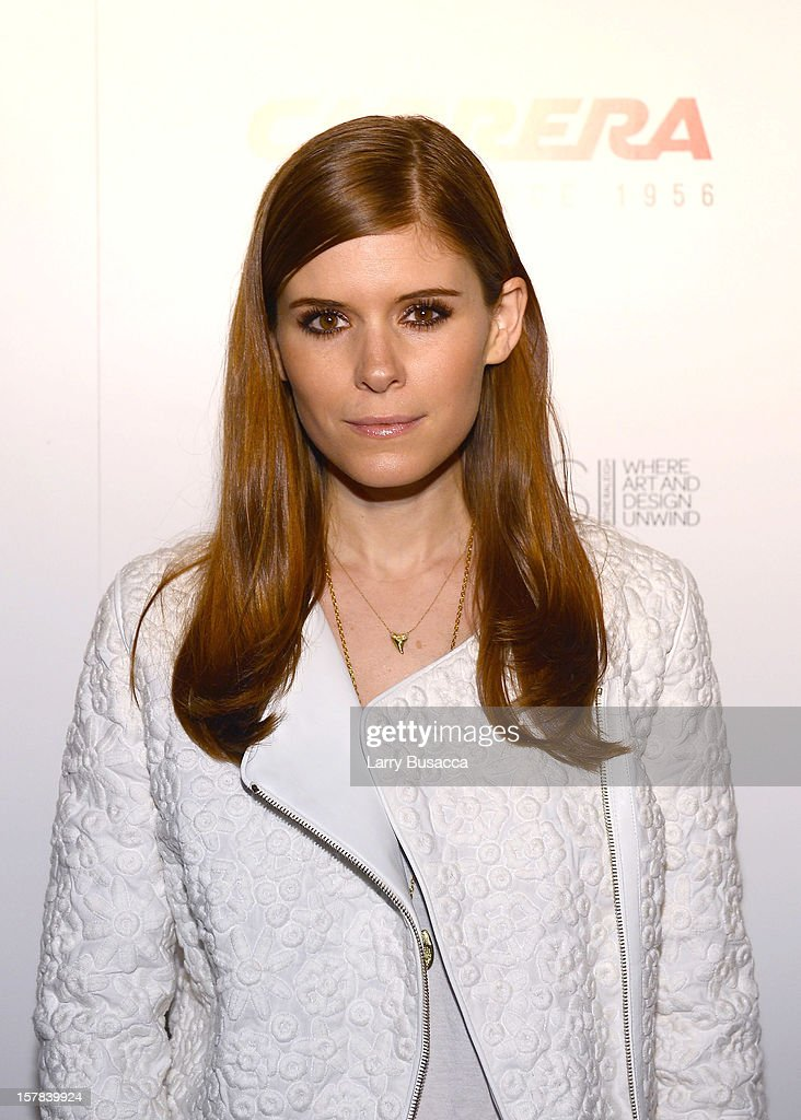 Actress Kate Mara arrives to the Carrera Cocktail Party hosted by AD Oasis at The Raleigh on December 6, 2012 in Miami, Florida.