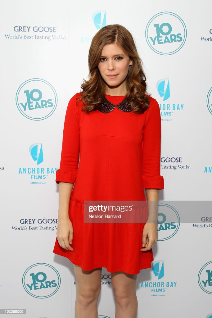 Actress Kate Mara attends '10 Years' brunch reunion event hosted by GREY GOOSE Vodka And Anchor Bay Films at Hotel Chantelle on September 16, 2012 in New York City.