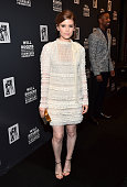 """Actress Kate Mara attends 2015 Will Rogers """"Pioneer of the Year"""" Dinner Honoring Jim Gianopulos at Caesars Palace during CinemaCon the official..."""