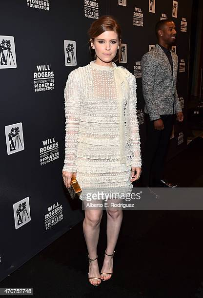 "Actress Kate Mara attends 2015 Will Rogers ""Pioneer of the Year"" Dinner Honoring Jim Gianopulos at Caesars Palace during CinemaCon the official..."
