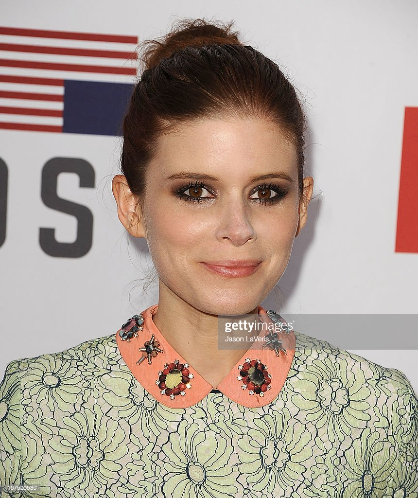 Actress Kate Mara attends a Q&A for 'House Of Cards' at Leonard H. Goldenson Theatre on April 25, 2013 in North Hollywood, California.