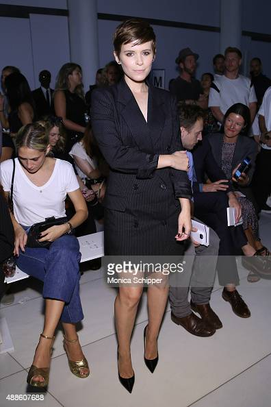 Actress Kate Mara attends DKNY Women's Spring 2016 during New York Fashion Week The Shows on September 16 2015 in New York City