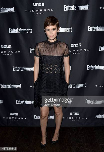 Actress Kate Mara attends EW's Must List Party during the 2015 Toronto International Film Festival at Thompson Hotel on September 12 2015 in Toronto...