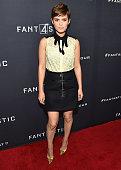 Actress Kate Mara attends 'Fantastic Four' Atlanta VIP screening at Cinebistro on July 30 2015 in Atlanta Georgia