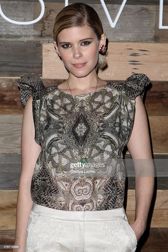 Actress <a gi-track='captionPersonalityLinkClicked' href=/galleries/search?phrase=Kate+Mara&family=editorial&specificpeople=544680 ng-click='$event.stopPropagation()'>Kate Mara</a> attends H&M Conscious Exclusive Dinner at Eveleigh on March 19, 2014 in West Hollywood, California.