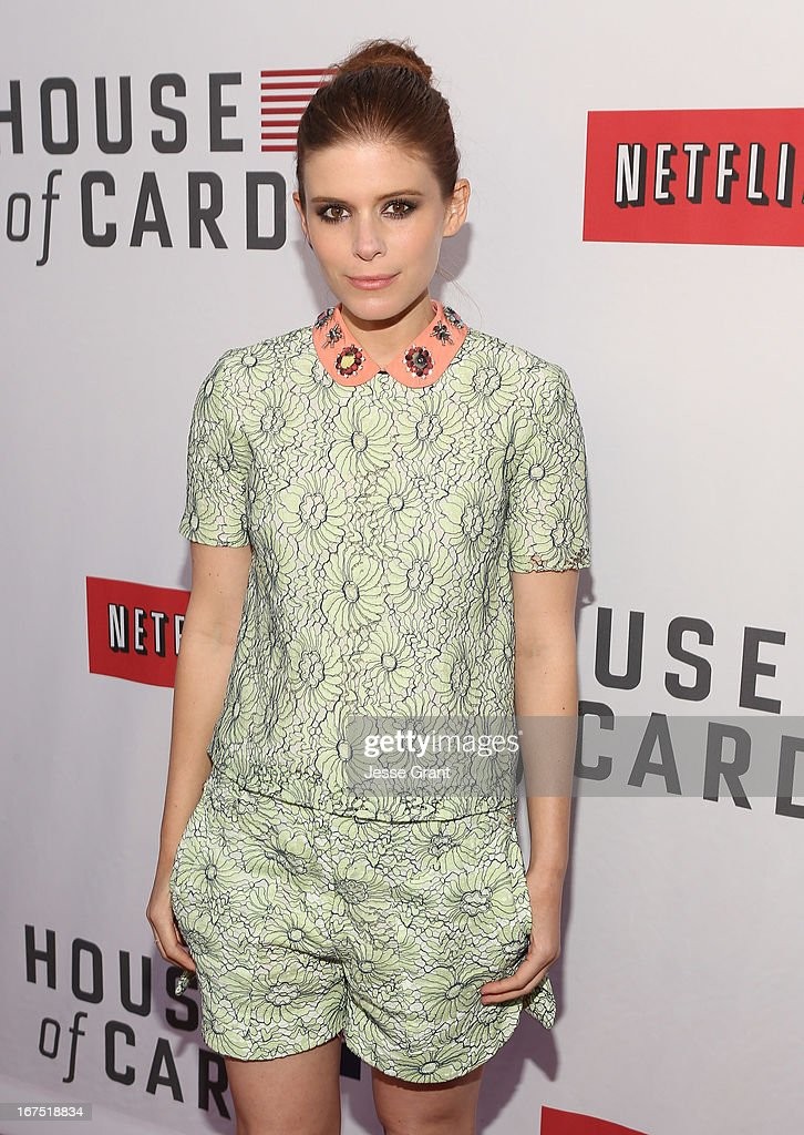Actress Kate Mara attends Netflix's 'House of Cards' For Your Consideration Q&A on April 25, 2013 at the Leonard H. Goldenson Theatre in North Hollywood, California.