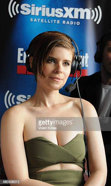 Actress Kate Mara attends SiriusXM's Entertainment Weekly Radio Channel Broadcasts From ComicCon 2015 at Hard Rock Hotel San Diego on July 11 2015 in...