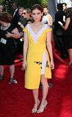 Actress Kate Mara attends the 2014 Creative Arts Emmy Awards at the Nokia Theatre LA Live on August 16 2014 in Los Angeles California