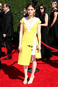Actress Kate Mara attends the 2014 Creative Arts Emmy Awards held at the Nokia Theatre LA Live on August 16 2014 in Los Angeles California