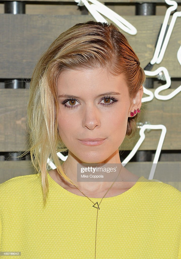 Actress Kate Mara attends the 2014 Summer Party presented by Coach and Friends Of The Highline at The Highline on June 17 2014 in New York City