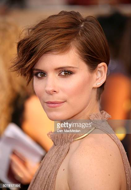 Actress Kate Mara attends the 22nd Annual Screen Actors Guild Awards at The Shrine Auditorium on January 30 2016 in Los Angeles California