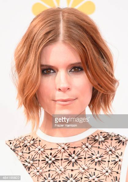 Actress Kate Mara attends the 66th Annual Primetime Emmy Awards held at Nokia Theatre LA Live on August 25 2014 in Los Angeles California