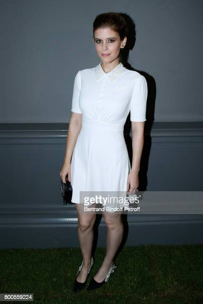 Actress Kate Mara attends the Dior Homme Menswear Spring/Summer 2018 show as part of Paris Fashion Week on June 24 2017 in Paris France