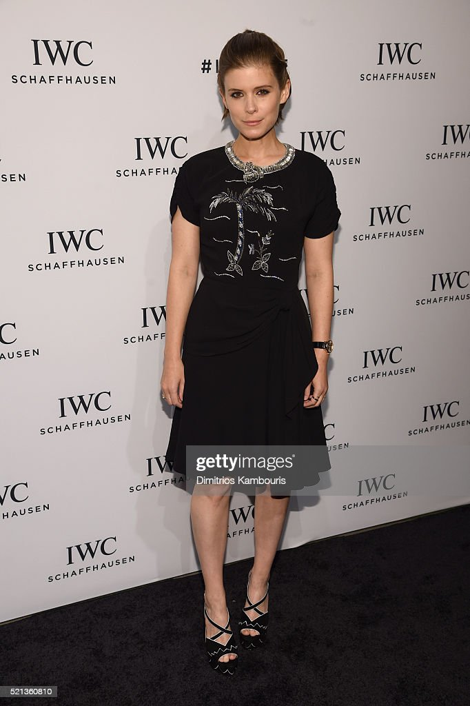 "Actress Kate Mara attends the exclusive gala event ""For the Love of Cinema"" during the Tribeca Film Festival hosted by luxury watch manufacturer IWC..."