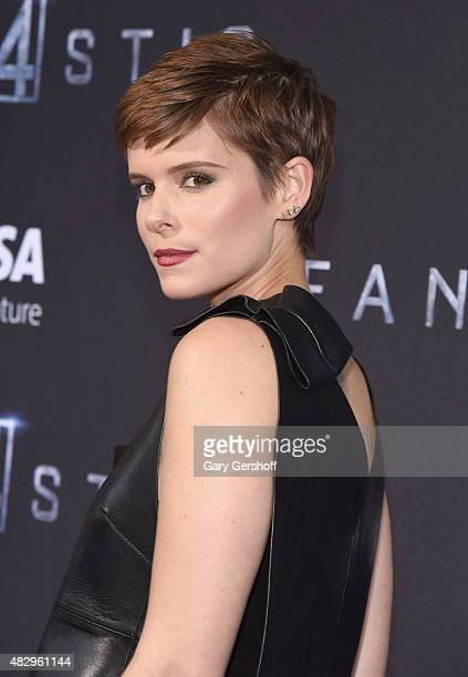 Actress Kate Mara attends the 'Fantastic Four' New York Premiere at Williamsburg Cinemas on August 4 2015 in New York City