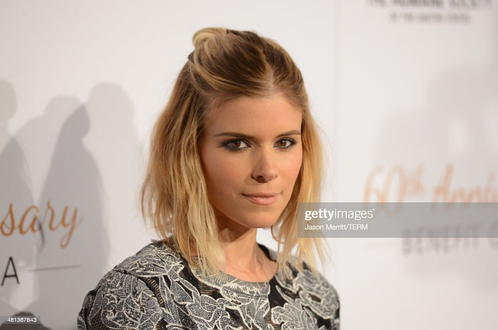 Actress <a gi-track='captionPersonalityLinkClicked' href=/galleries/search?phrase=Kate+Mara&family=editorial&specificpeople=544680 ng-click='$event.stopPropagation()'>Kate Mara</a> attends the Humane Society of The United States 60th Anniversary Gala at The Beverly Hilton Hotel on March 29, 2014 in Beverly Hills, California.