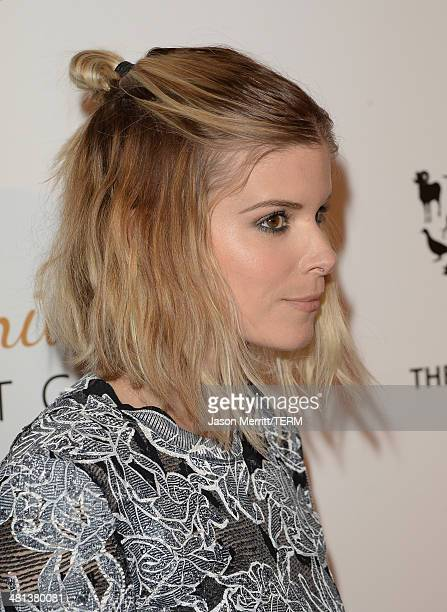 Actress Kate Mara attends the Humane Society of The United States 60th Anniversary Gala at The Beverly Hilton Hotel on March 29 2014 in Beverly Hills...