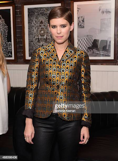 Actress Kate Mara attends the Man Down TIFF party hosted by GREY GOOSE Vodka and Soho Toronto at Soho House Toronto on September 15 2015 in Toronto...