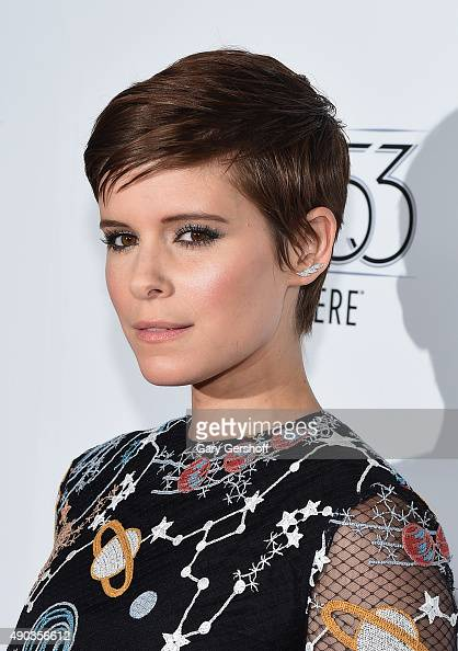 Actress Kate Mara attends 'The Martian' premiere during the 53rd New York Film Festival at Alice Tully Hall on September 27 2015 in New York City