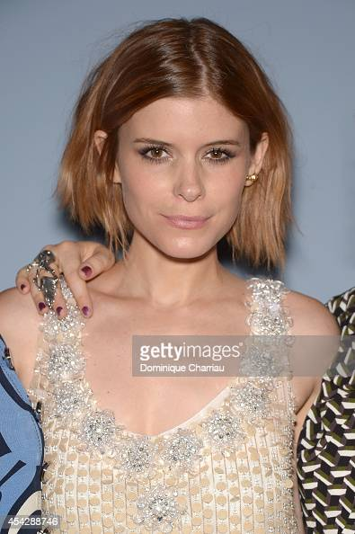 Actress Kate Mara attends the 'Miu Miu Women's Tales #8' Premiere during the 71st Venice Film Festival at Sala Perla on August 28 2014 in Venice Italy