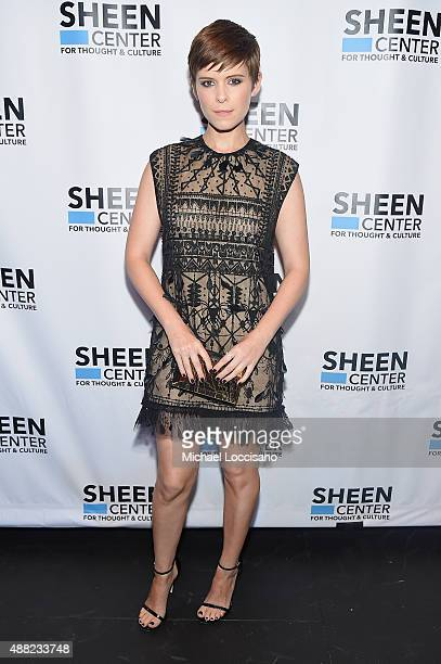 Actress Kate Mara attends the New York City Special Screening of Captive at the Sheen Center on September 14 2015 in New York City
