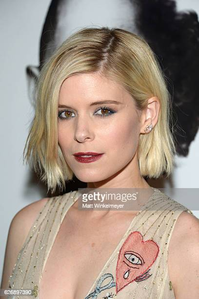 Actress Kate Mara attends the premiere of Lionsgate Premiere's 'Man Down' at ArcLight Hollywood on November 30 2016 in Hollywood California