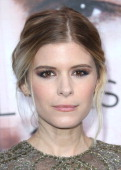Actress Kate Mara attends the Premiere of Warner Bros Pictures and Alcon Entertainment's 'Transcedence' at the Regency Village Theatre on April 10...