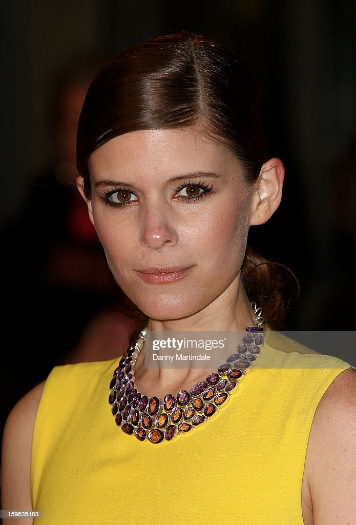 Actress Kate Mara attends the red carpet premiere for the launch of Netflix Original Series, House of Cards on January 17, 2013 in London, United Kingdom.